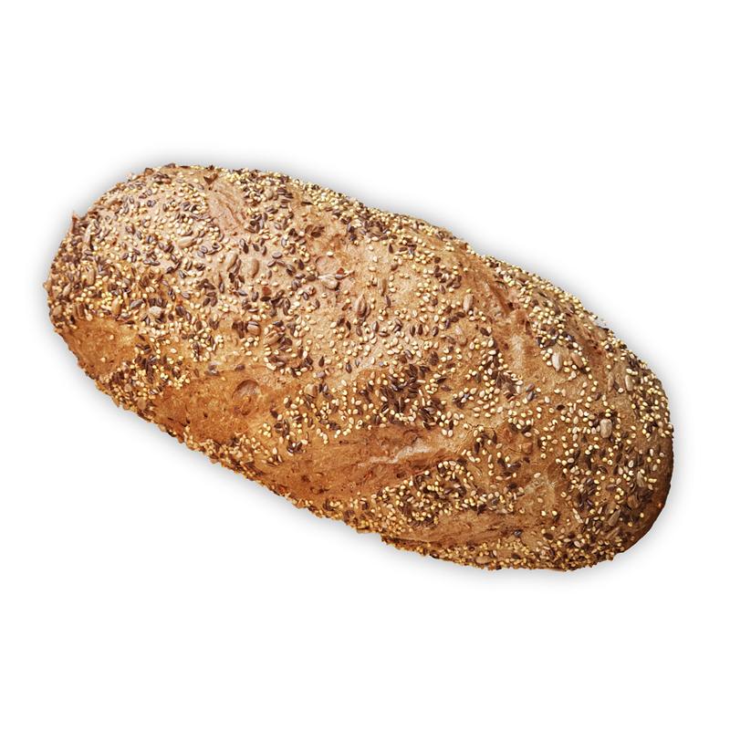 Half meergranen brood
