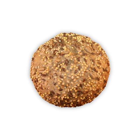 Donker meergranen broodje